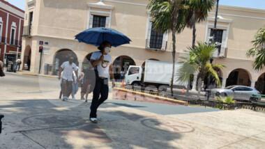Temperaturas extremadamente calurosas en Yucatán
