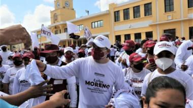 Kanasín no debe ser gobernado por improvisados: Carlos Moreno