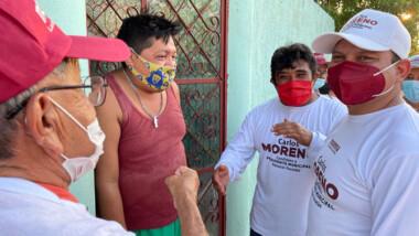 El triunfo está cerca: Carlos Moreno