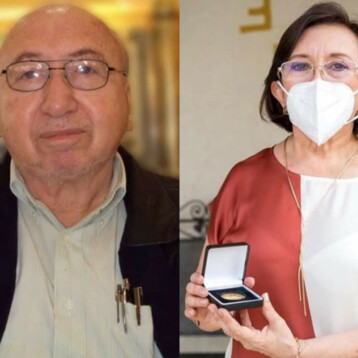 Eddie Salazar y Asunción Sánchez Ortíz, maestros distinguidos 2021