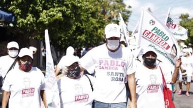 Celebra Pablo Gamboa a las mamás del tercer distrito federal de Mérida