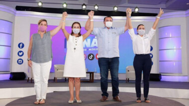 Volverás a ser alcalde, Josefina Vázquez Mota a Renán