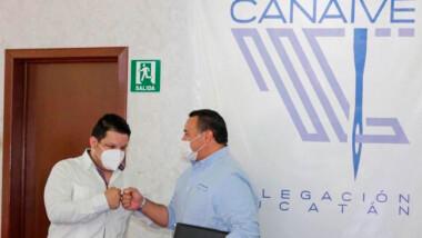 Renán Barrera seguirá siendo un aliado del sector empresarial