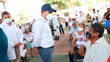 En 42 municipios ya concluyó la vacunación anticovid19