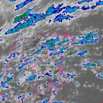 Seguirán las lluvias en algunos puntos de la región