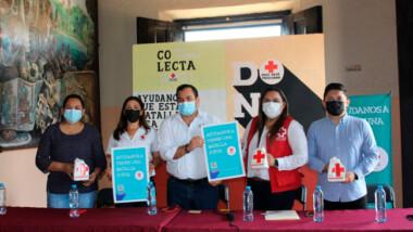 Arranca en Valladolid la Colecta Anual Nacional de la Cruz Roja Mexicana