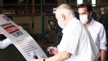 Propone Pablo Gamboa abrir espacios de trabajo para personas mayores de 40 años