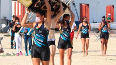 Inauguran el Panamericano de remo en la pista de Progreso