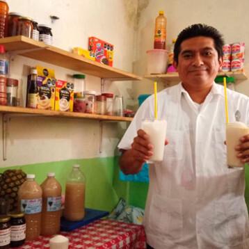 Las champolas de Don Cheto, una tradición en Maxcanú