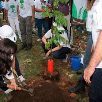Deportistas discapacitados apoyan la Cruzada Forestal 2021