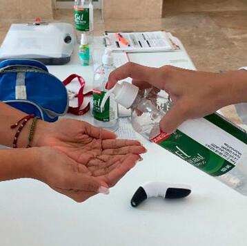Refuerza IMSS sus filtros sanitarios y medidas preventivas ante el COVID-19