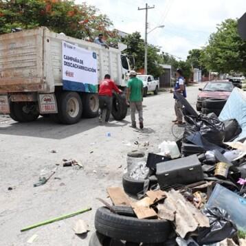 Recolectan más de 480 toneladas de cacharros en Mérida