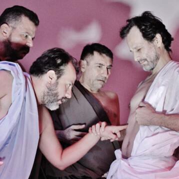 """Llega una versión libre de teatro sobre """"La Pasión"""" al Olimpo"""