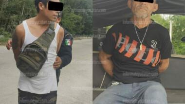 Detenidos con marihuana en Piedra de Agua