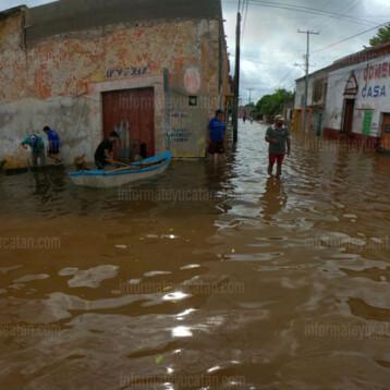 Alertan por intensas lluvias en territorio yucateco durante las próximas 48 horas