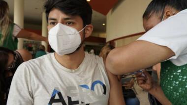 Jóvenes en Tamaulipas rompieron el récord de asistencia para la vacunación contra COVID-19