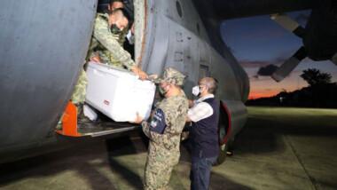 Llega nuevo cargamento de vacunas Sinovac a Yucatán