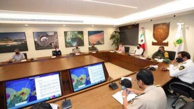 Suspenden labores en Yucatán por Grace