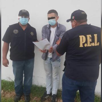 Yucateco detenido por robo de joyas y narcomenudeo