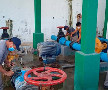 Anticipan baja presión del agua en Ciudad Caucel