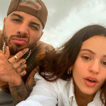 Rosalía hace oficial su noviazgo con el cantante Rauw Alejandro