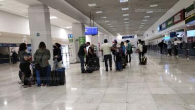 Yucatán reporta más movimiento aéreo