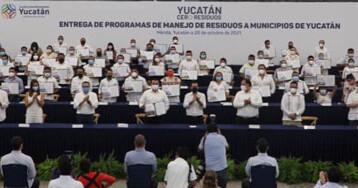 "Alcaldes se suman al programa ""Yucatán Cero Residuos"""