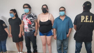 Detienen a cuatro jóvenes por homicidio de velador en Cholul