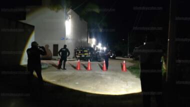 Asesinan a machetazos a velador en Cholul