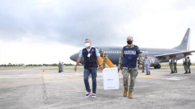 """Yucatán recibe dosis anticovid para adolescentes """"en riesgo"""""""