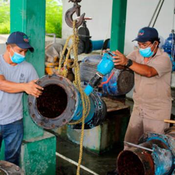 Con 500 mil pesos reparan cárcamo de Japay en Ciudad Caucel