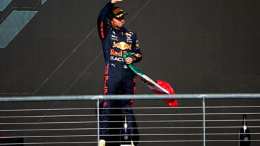 Checo Pérez sube en tercer lugar al podio en GP de Estados Unidos