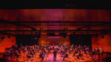 """Banda Sinfónica """"Luis Fernando Luna Guarneros"""" ofrece conciertos en el Palacio de la Música"""