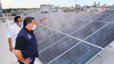 Incentivan a meridanos a utilizar paneles solares