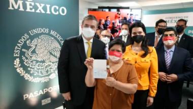 SRE presenta el nuevo pasaporte electrónico
