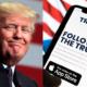 Provoca euforia en Wall Street la futura red social de Trump
